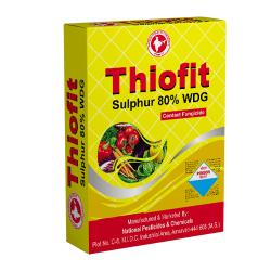Thiofit   Sulphur 80% WDG Fungicide