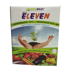 Max Eleven (Carbendism 12 % + Mancozeb 63 % wp )