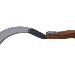 "Concorde C147W Sickle (Datri) Without Teeth 19.5cm (6.75"") Wooden Handle"