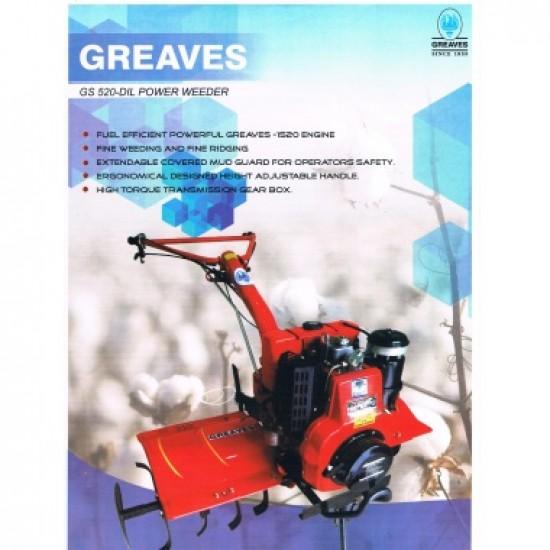 6 HP Graves Cotton Power Weeder