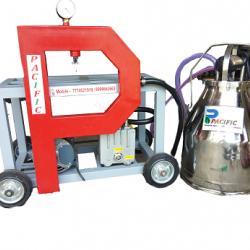 Pacific Double Bucket Double Power Milking Machine