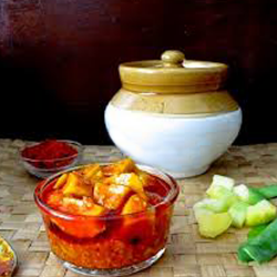 Homemade Mango Pickle - Extremely Delicious