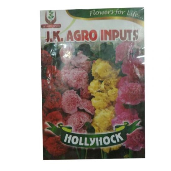 Hollyhocks Flower Seed