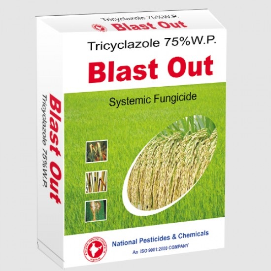 National-Blast out Tricyclozole 75% W.P