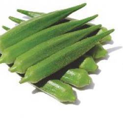 Nirmal Hybrid Okra Vegetable Seeds Kajri NOH-1684 -100 GRM