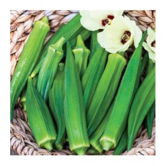 Bhindi (Okra) F1 Hybrid Vegetable Seeds