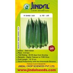 Jindal Seeds Hybrid Bhindi - Aadi - 50gms