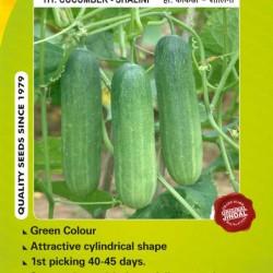 Jindal Cucumber Hybrid Seeds(kheera Seeds)-Shalini-10GM