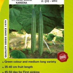 Jindal Ridge gourd Hybrid Seeds(turee Seeds)-Karina -50GM