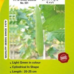 Jindal Sponge gourd  Hybrid Seeds(Spanj Laukee Seeds)-No . 551 -50GM