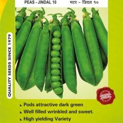 Jindal Peas Seeds(Matar Seeds) Jindal 10 -1KG